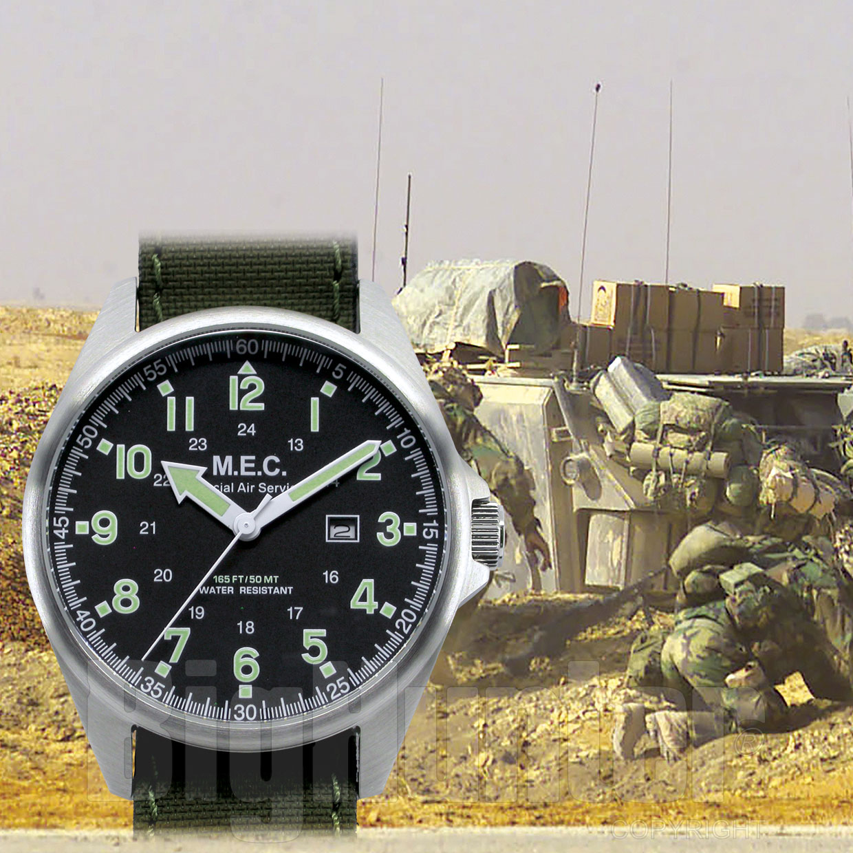 premium selection 646e6 111b1 Orologio MEC SAS Special Air Force Green