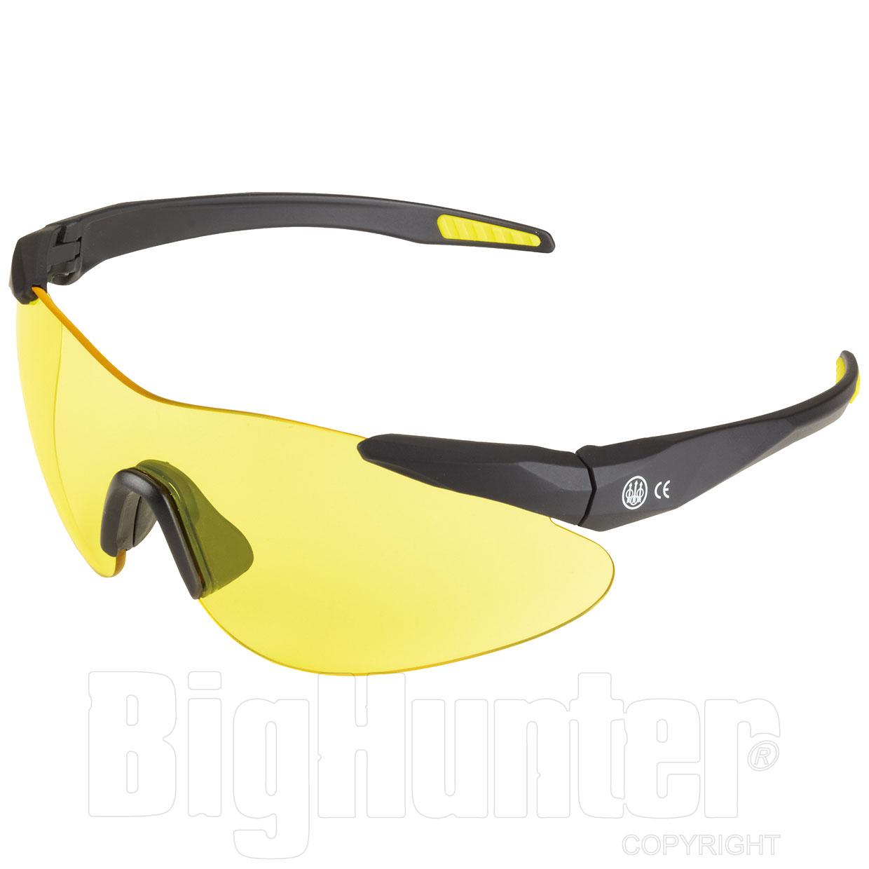 Occhiali da tiro beretta challenge yellow for Occhiali da tiro a volo zeiss