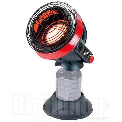 Stufa Portatile Mr Heater Little Buddy 1,1Kw Istruz. in Italiano
