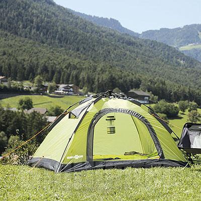 Tenda da campeggio Brunner a Cupola Automatica