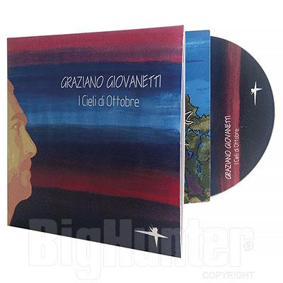 CD Audio I Cieli di Ottobre di Graziano Giovanetti