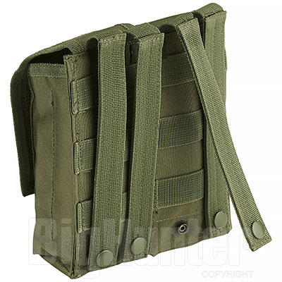 Portacaricatore Doppio AK47 Molle System Green