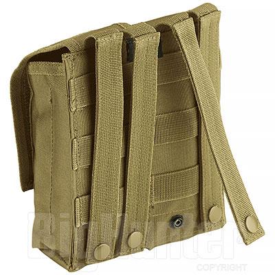 Portacaricatore Doppio AK47 Molle System Coyote