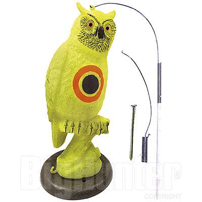 Spaventapasseri Gufo Fluorescente