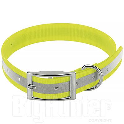 Collare per cani Biothane Biogold Reflex Yellow