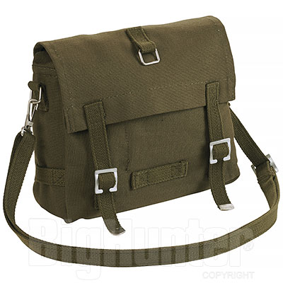 Borsa Germany Puro Cotone Green