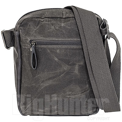 Borsa  Avirex RJ90 Medium Canvas Stonewash Black-Grey