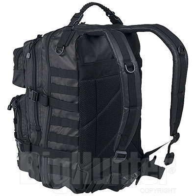 Zaino US Tactical Assault Black Large 36L