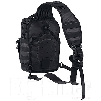 Zaino Monospalla Tactical Assault Black Small 10L