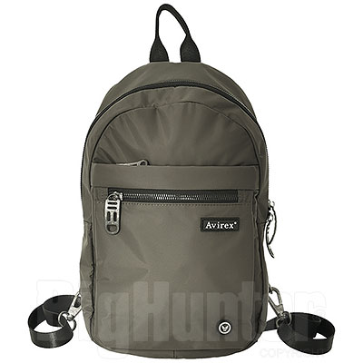 Zaino  Avirex BMB Sling Bag Army Green