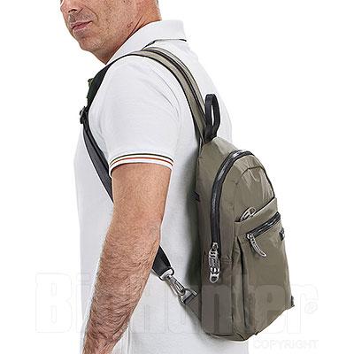 Zaino  Avirex BMB Sling Bag Army Green