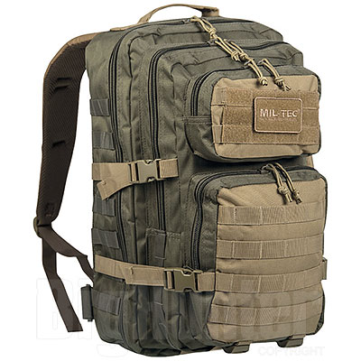 Zaino US Tactical Assault Ranger Green Coyote Large 36L