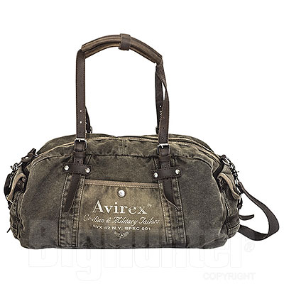 Borsone Avirex Dueffel Line 140506 Canvas Washed and Leather