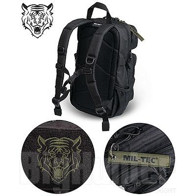 Zaino Bambino Mil-Tec Tiger US Black 14L