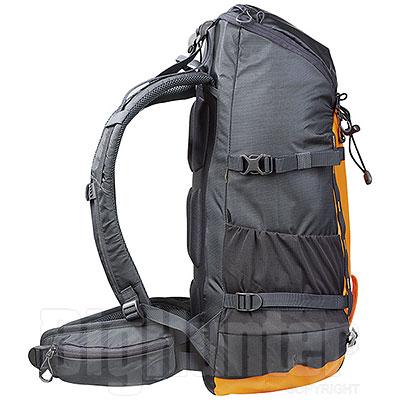 Zaino Columbus Peak Dark Grey Orange 35 L