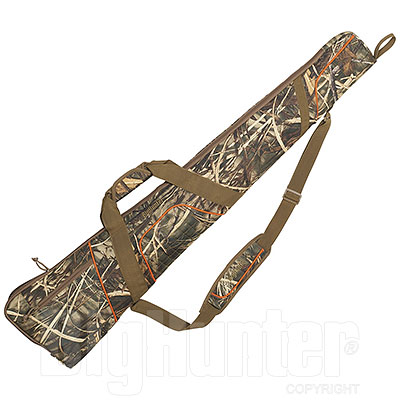 Fodero Carabina-Fucile BigHunter Quilted Bushcamo Orange cm 115