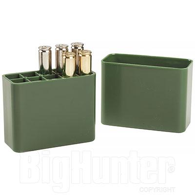 Porta Munizioni Tascabile Verde 10 Grossi Calibri