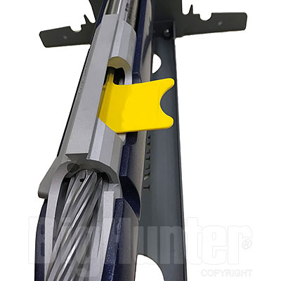 Kit 4 Bandierine di Sicurezza per Carabina