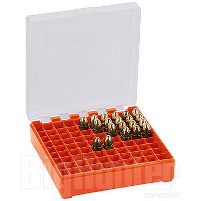 Porta Munizioni Orange HV Pistola - Revolver 100 Colpi Calibro 9