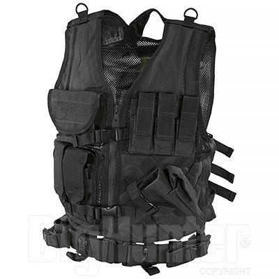 Gilet Tattico BagPack Black