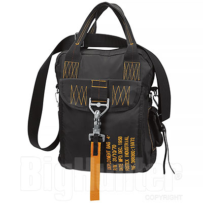 Borsa  Bag Four Black Yellow Deployment
