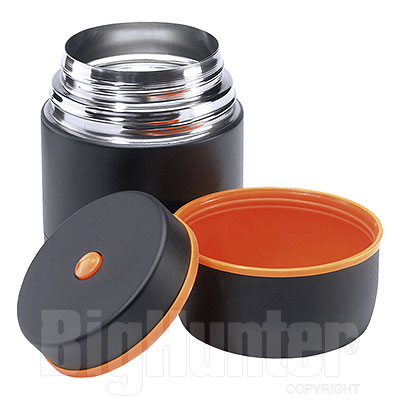 Thermos Esbit Portavivande 0,75L High-Quality Black Orange