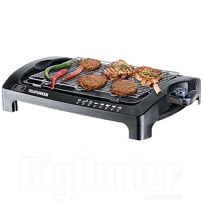 Barbecue Elettrico da Tavolo 2000W Telefunken