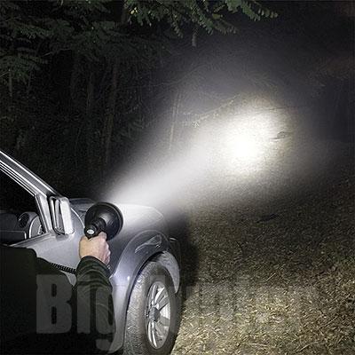 Faro Portabile e Ricaricabile 9 Cree LED 2000 Lumen Reflector