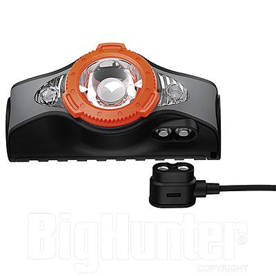Lampada Front. Ric. Ledlenser MH11 1000 Lumen Orange Bluetooth