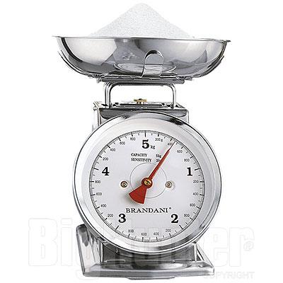Bilancia da Cucina in Acciaio 5 kg