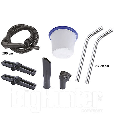 Aspiratore Solidi e Liquidi Professionale Ribimex Aspirix 80L