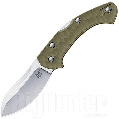 Coltello Fox Knives Anso Zero Inox N690Co HRC 58-60 Green