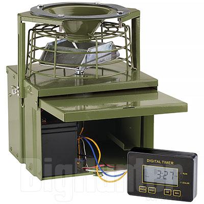 Distributore Automatico Mangime Pro Green 12V