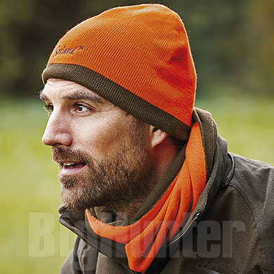 Sciarpa Seeland Ian Reversible Green Orange