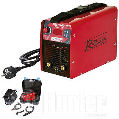 Saldatrice Inverter TECH 200 Ribimex in Valigetta