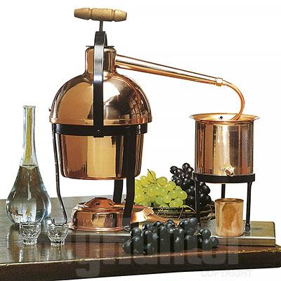 Alambicco Distillatore Rame