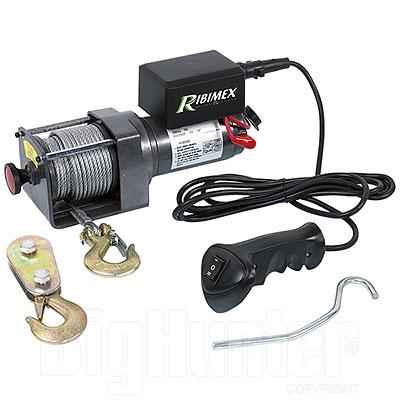 Verricello Elettrico Ribimex 12V 1100/2200Kg