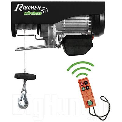 Paranco elettrico Ribimex 400/800 kg con Radio Comando