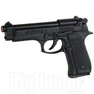 Bruni Pistola a Salve Beretta 92 calibro 9 Nera