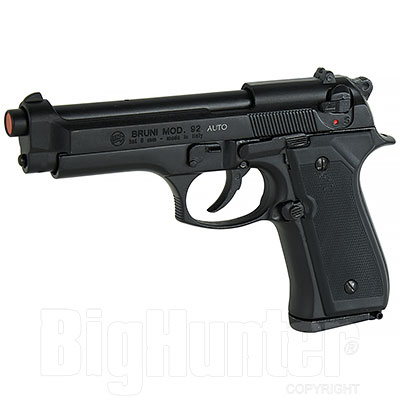 Bruni Pistola a Salve Beretta 92 Full Auto calibro 8 Nera