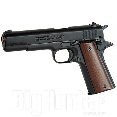 Bruni Pistola a Salve Colt Government M.96 Calibro 8 Nera