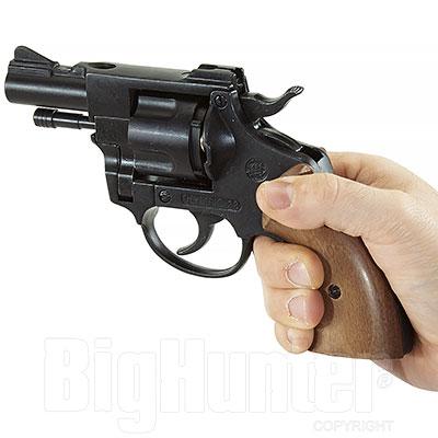 Bruni Revolver a Salve Olympic 38 Calibro 380 Nero
