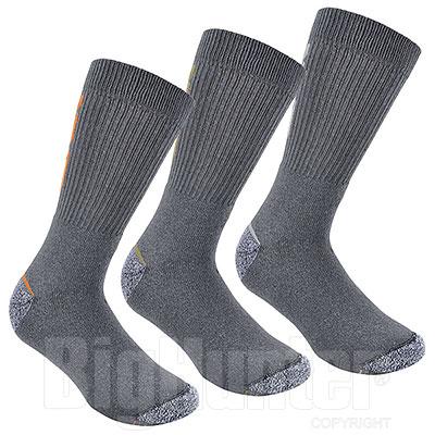 Set 3 Calze uomo Short Grey New