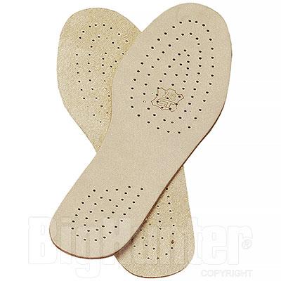 Soletta scarpe in Cuoio Areato