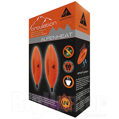 Asciuga Scarpe Scarponi e Stivali Alpenheat Circulation UV
