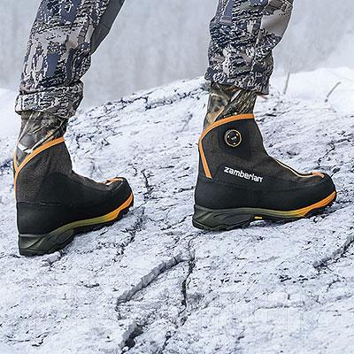 Scarponi Alti Zamberlan Polar Hunter GTX RR BOA Black/Camo