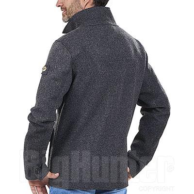 Giacca misto lana Kalibro Teckno Loden Grey Mélange