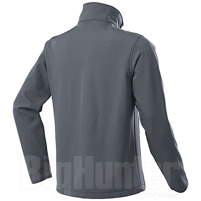 Giacca Softshell Impermeabile uomo 2 Layer Tin Grey