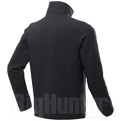 Giacca Softshell Impermeabile uomo 2 Layer Tin Black