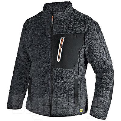 Giacca uomo Diadora Utility Sherpa Asphalt Grey